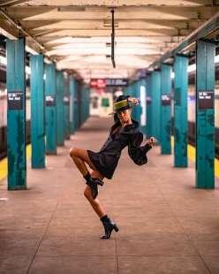 le foto in metro' a new york di mr. nyc subway 36