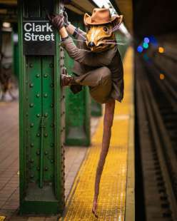 le foto in metro' a new york di mr. nyc subway 38