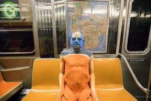 le foto in metro' a new york di mr. nyc subway 4