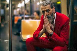 le foto in metro' a new york di mr. nyc subway 7