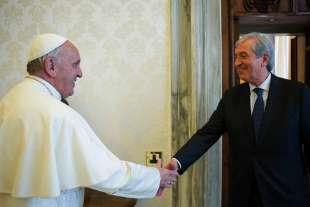 Libero Milone e Papa Francesco
