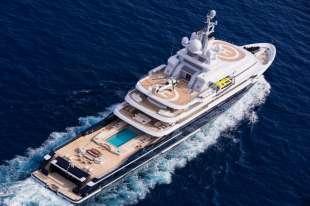 lo yacht di akhmedov 2