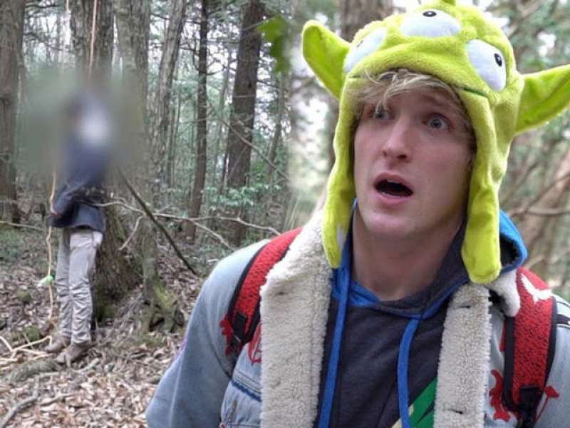 logan paul foresta suicidi giappone