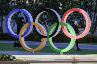 logo delle olimpiadi