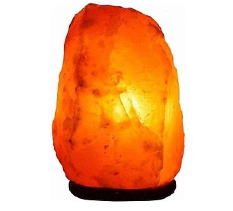 luce al sale rosso delle himalaya
