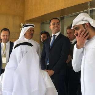 luigi di maio negli emirati arabi uniti