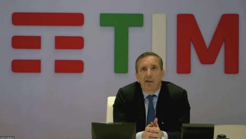 luigi gubitosi al convegno di fratelli d'italia sulla rete unica