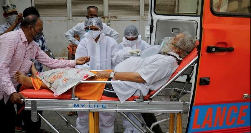 malati di covid in india