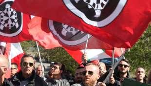 manifestanti di casapound