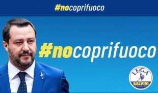 MATTEO SALVINI NO COPRIFUOCO