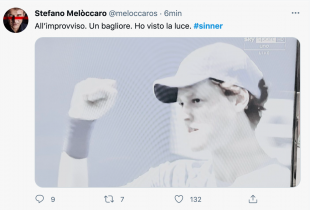 MELOCCARO SU SINNER
