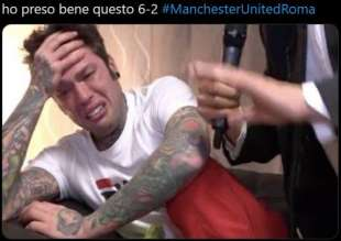 meme manchester united roma20