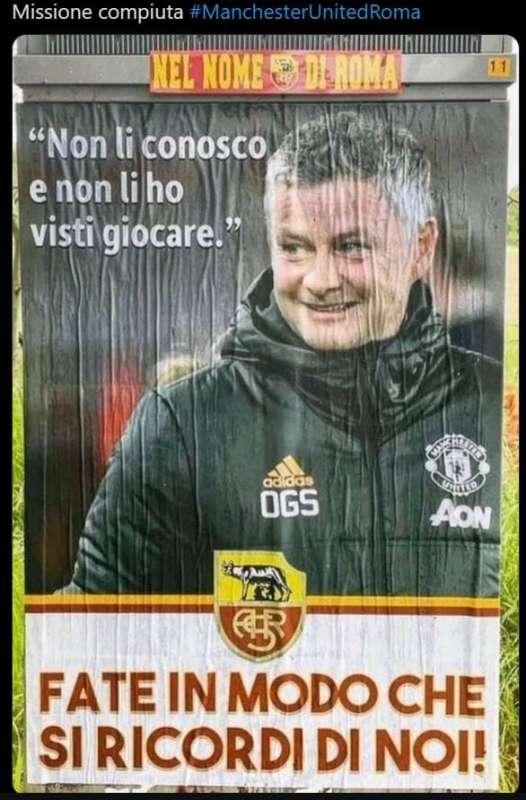 meme manchester united roma21