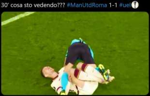meme manchester united roma25