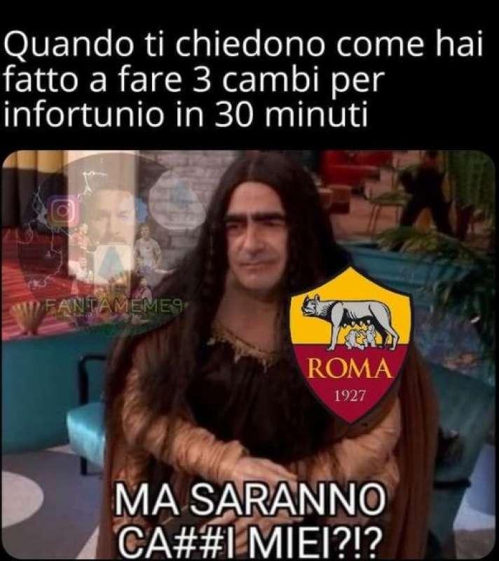 meme manchester united roma30