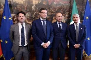 Michele Sciscioli, Giancarlo Giorgetti, Rocco Sabelli, Andrea Abodi