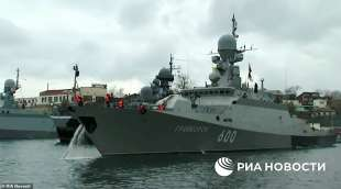 navi russe sul mar nero