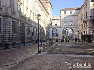 Piazza Belgioioso Milano