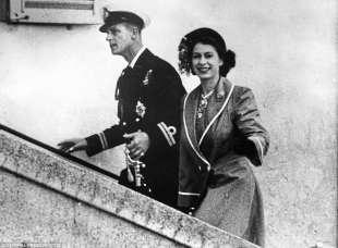 principe filippo e la regina elisabetta