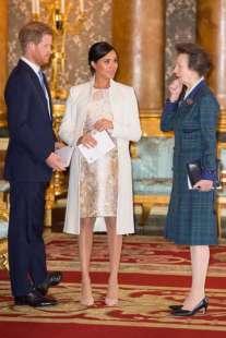 principessa anna principe harry meghan markle