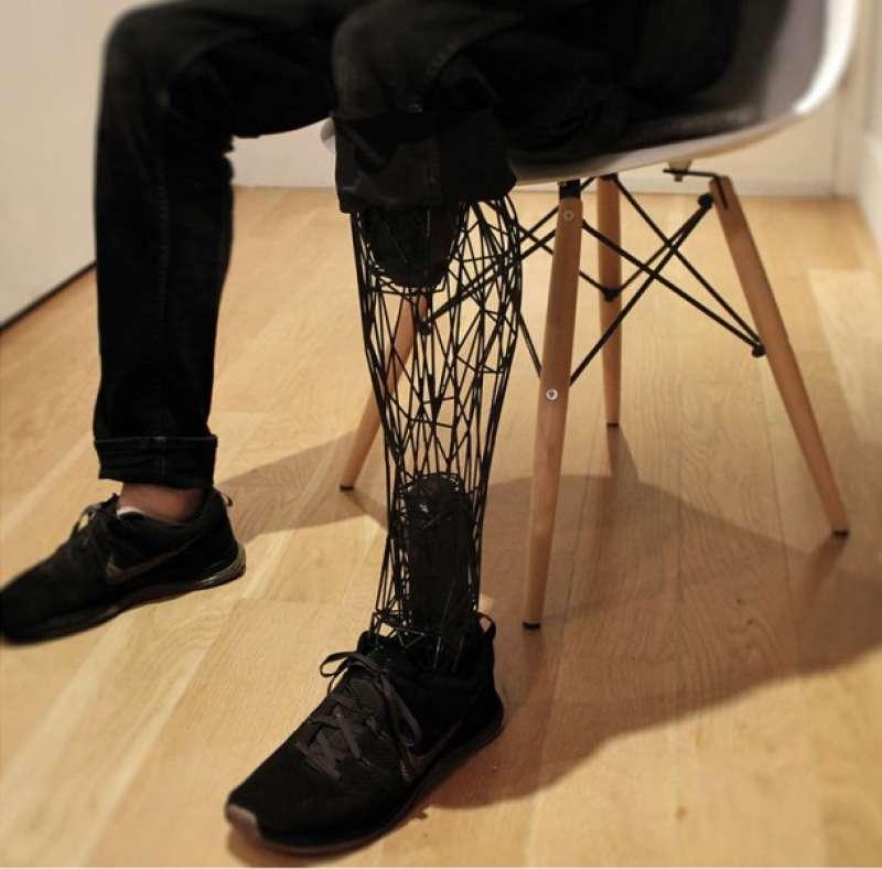 protesi gamba 3d
