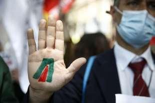 protesta dei dipendenti alitalia 2