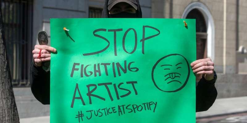 PROTESTE SPOTIFY 2