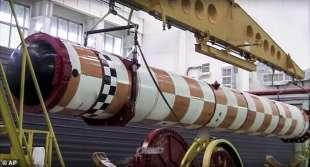 prototipo del missile poseidon 2m39