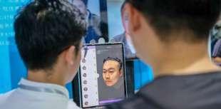 riconoscimento biometrico cina