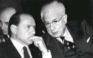 SILVIO BERLUSCONI E FRANCESCO COSSIGA