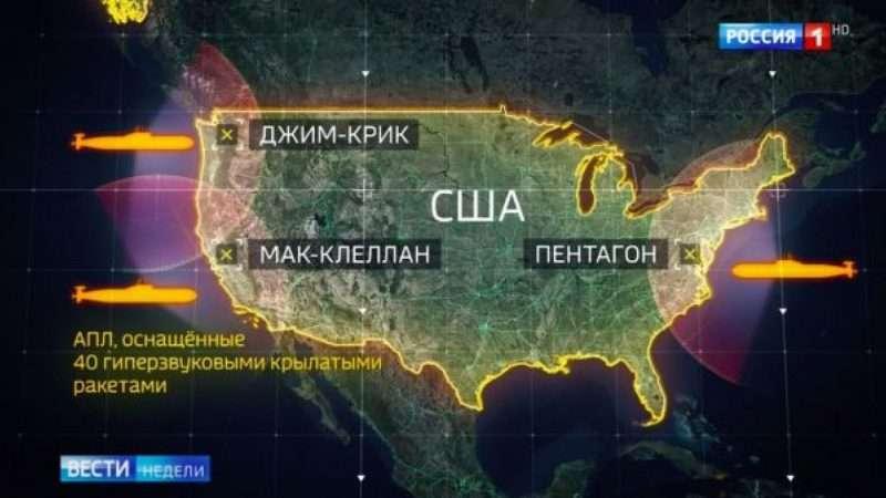 sottomarini nucleari russi in america