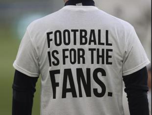 superlega protesta il calcio è dei tifosi
