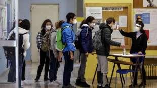 temperatura provata prima di entrare in classe