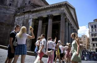 turisti in italia