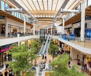 un centro commerciale