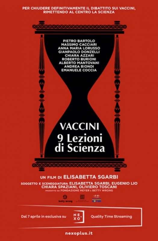 vaccini 9 lezioni di scienza film di elisabetta sgarbi