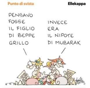 VIGNETTA DI ELLEKAPPA SUL CASO DI CIRO GRILLO