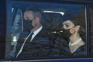 william e kate al funerale del principe filippo