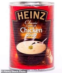 zuppa pollo heinz
