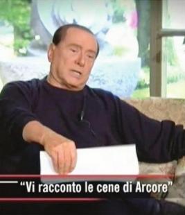 BERLUSCONI PER RACCONTARE IN TV IL CASO RUBY