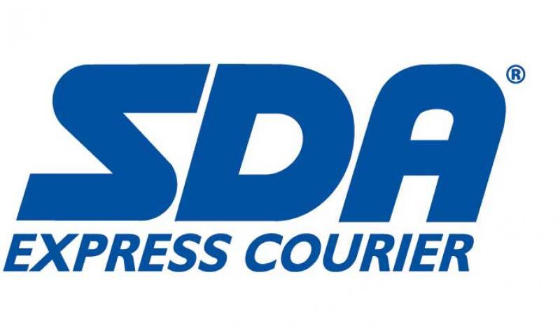 Risultati immagini per logo corriere espresso sda
