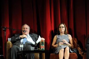 Goffredo Bettini e Barbara Palombelli