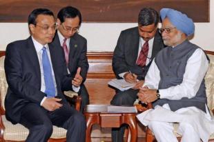 Li Keqiang Manmohan Singh
