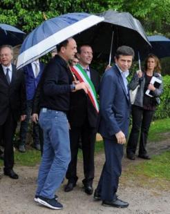 Lupi D e il vicepremier e ministro degli Interni Angelino Alfano