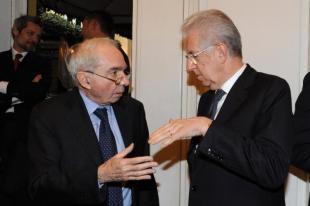 Mario Monti e Giuliano Amato