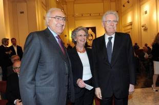 Pippo Baudo Elsa e Mario Monti