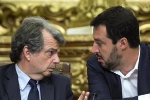 Brunetta Salvini foto Lapresse