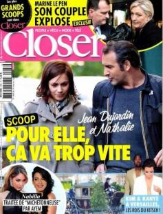 LA COPERTINA DI CLOSER CON MARINE LE PEN