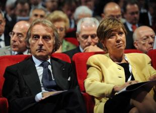 LUCA DI MONTEZEMOLO E LINDA LANZILLOTTA