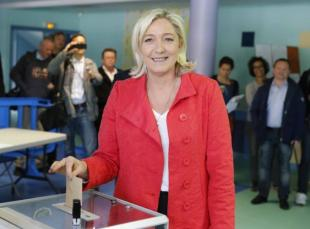 MARINE LE PEN VOTA